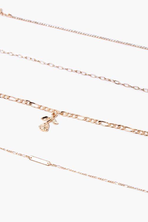 Rose Pendant Bracelet Set, image 1