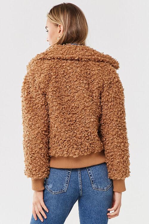 Boucle Knit Teddy Jacket, image 3