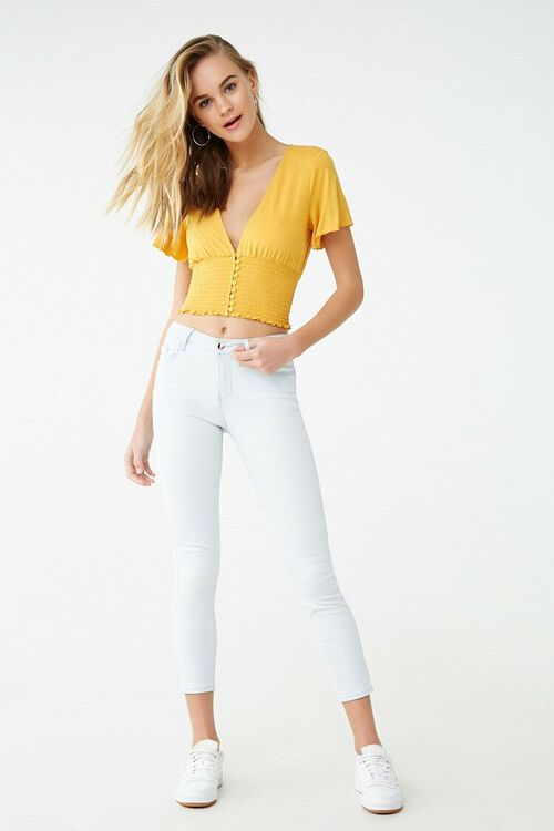 Low-Rise Skinny Ankle Jeans, image 2