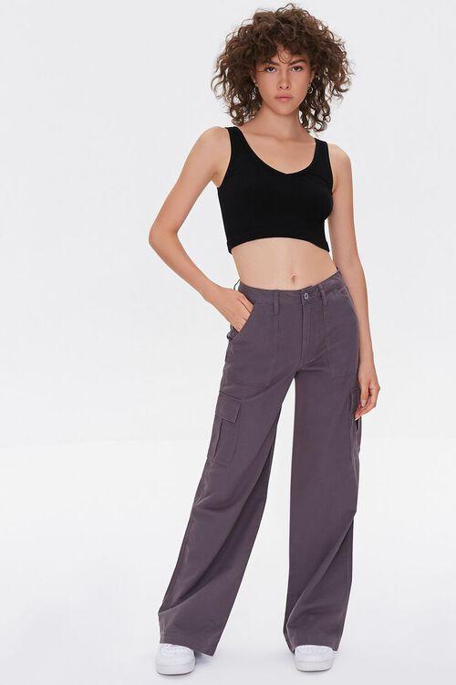 Straight-Leg Cargo Pants, image 1