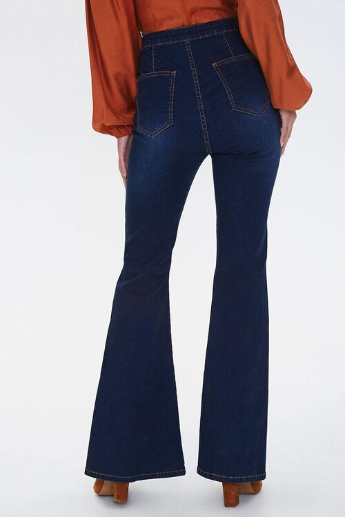 High-Rise Slit Flare Jeans, image 4