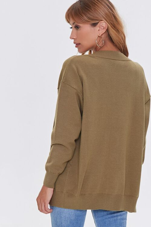 Sweater-Knit Crop Top & Cardigan Set, image 3