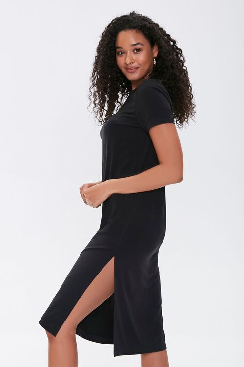 Leg-Slit T-Shirt Dress, image 3