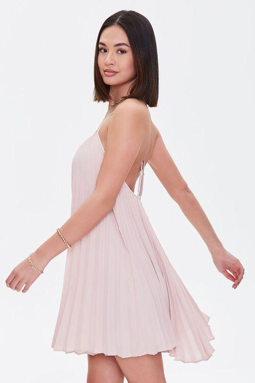 Pleated Mini Shift Dress, image 2