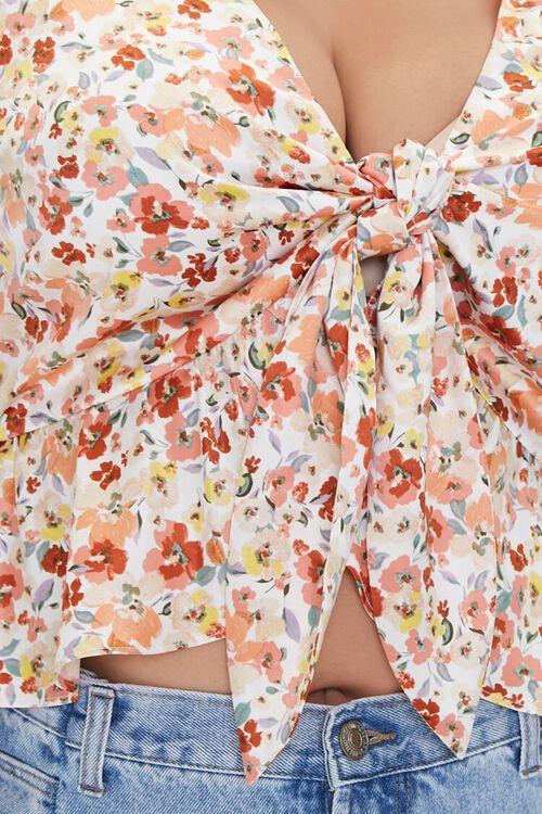 Plus Size Floral Print Top, image 5