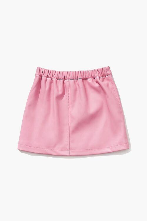 Girls Button-Front Skirt (Kids), image 2
