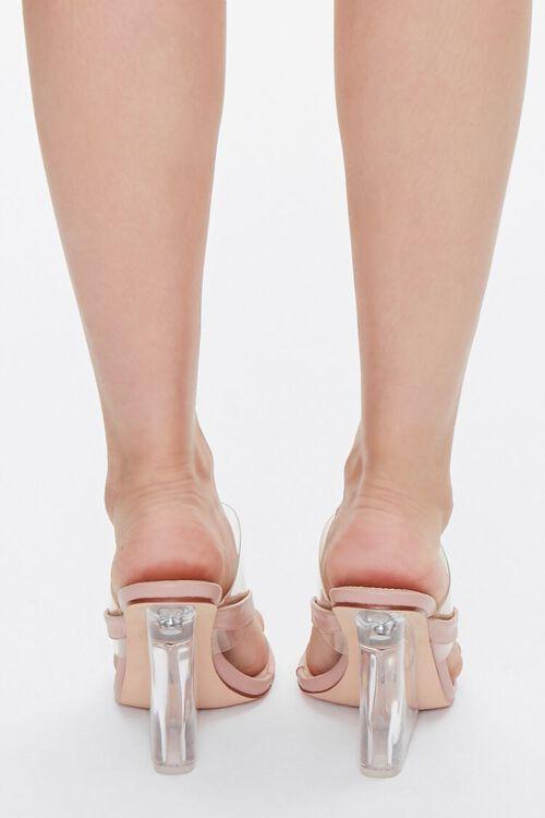 Toe-Thong Lucite Wedge Heels, image 3