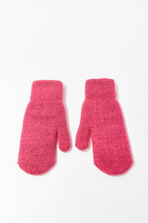 Ribbed Knit Mittens, image 3