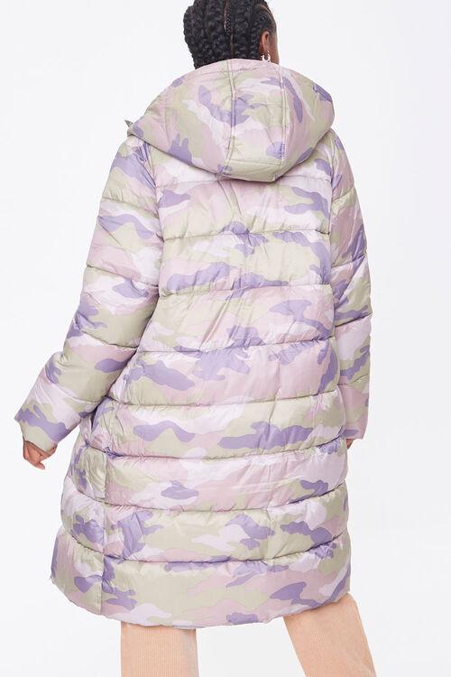 Longline Camo Puffer Jacket, image 3