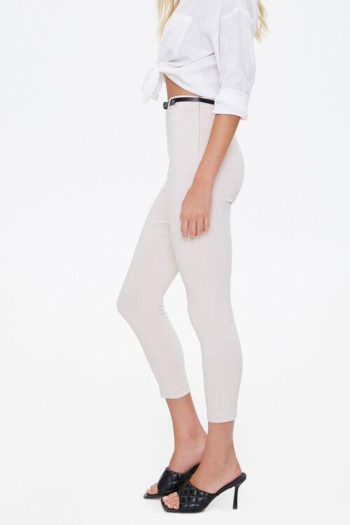 Skinny Belted Harper Pants, image 2