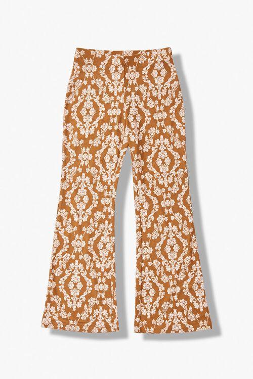 Girls Floral Flare Pants (Kids), image 1