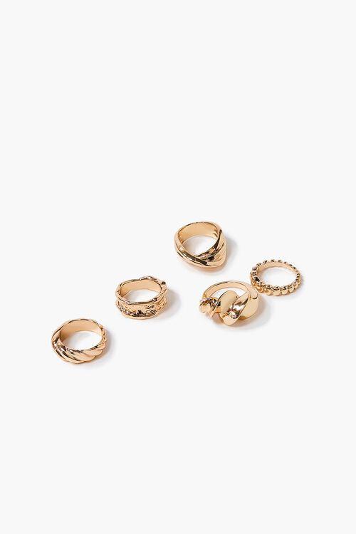 Twisted Ring Set, image 1