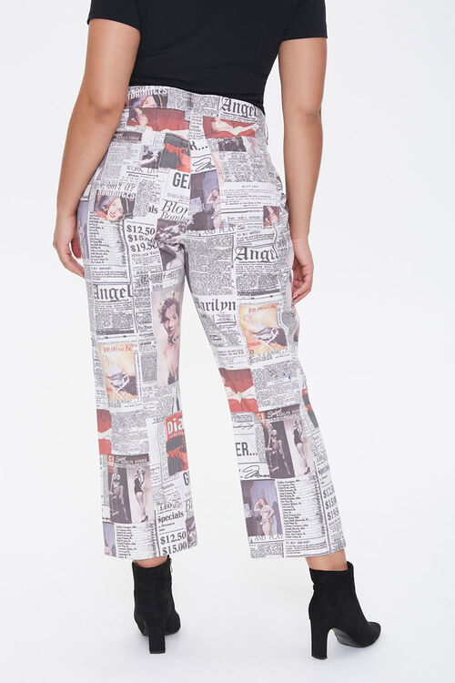 Plus Size Marilyn Monroe Cropped Jeans, image 3