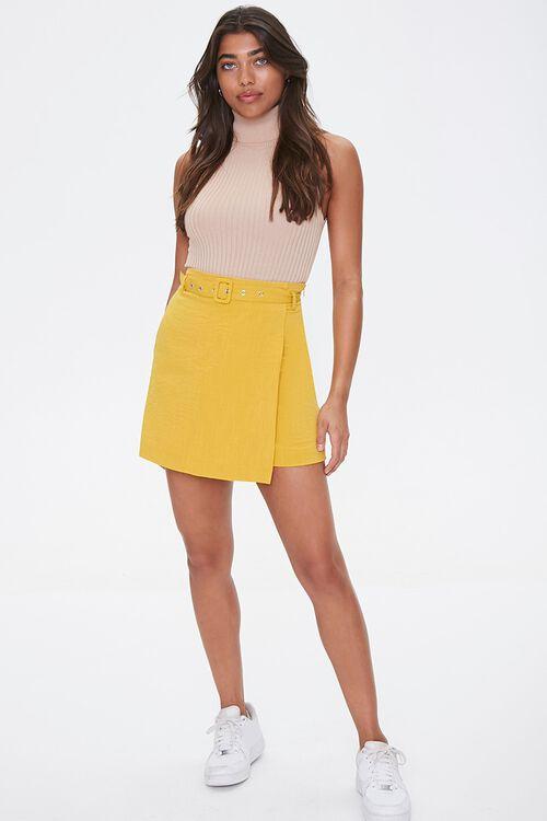 Belted Mini Skirt, image 5