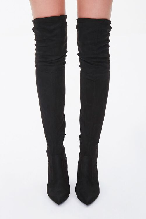 Faux Suede Over-the-Knee Boots, image 4