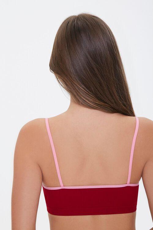 Seamless Lace-Trim Bralette, image 3
