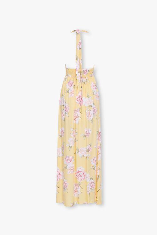 Floral Print Halter Dress, image 3