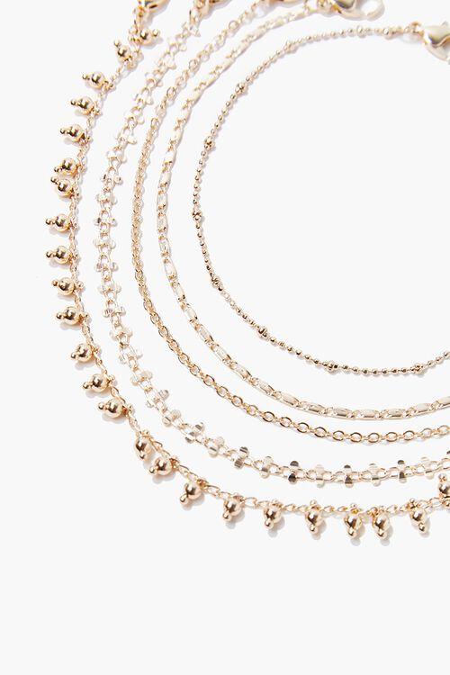 Assorted Chain Bracelet Set, image 1