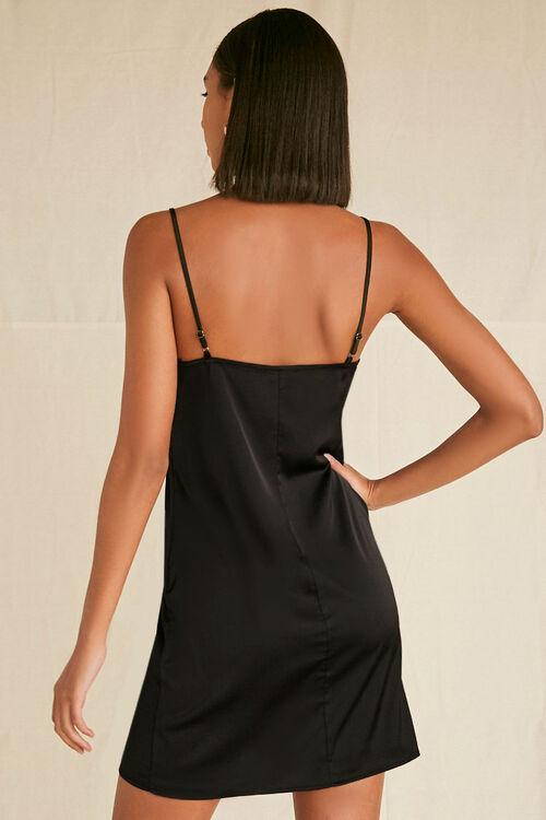 Satin Cami Slip Dress, image 3