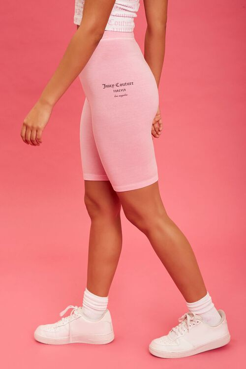 PINK/BLACK Juicy Couture Biker Shorts, image 3