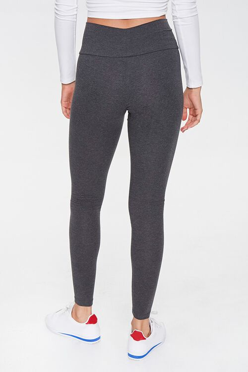 High-Rise Knit Leggings, image 4