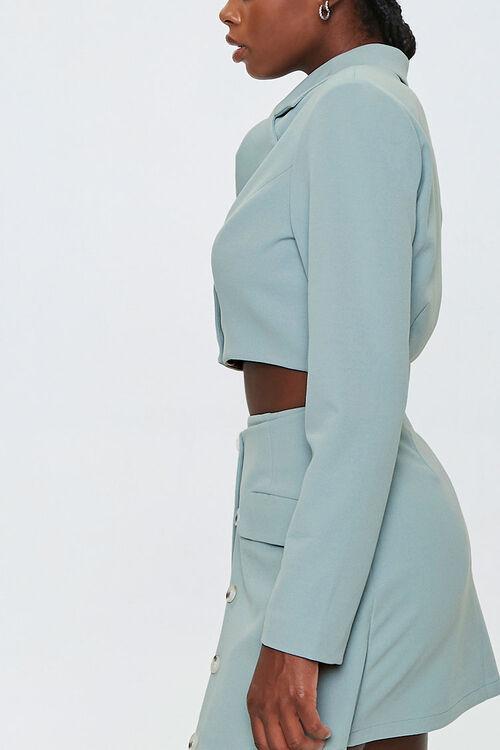 Padded Cropped Blazer, image 2