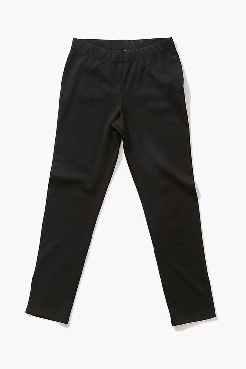 BLACK Girls Split-Hem Leggings (Kids), image 1