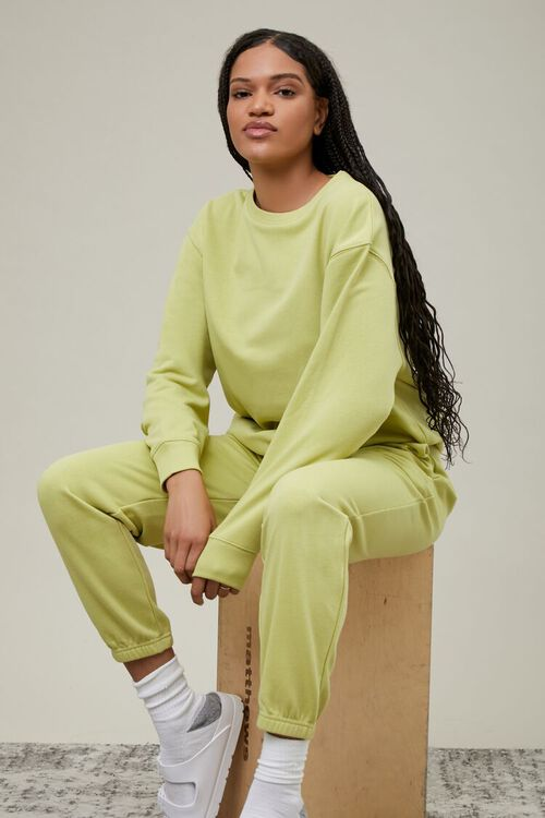 SAGE French Terry Crew Pullover, image 1