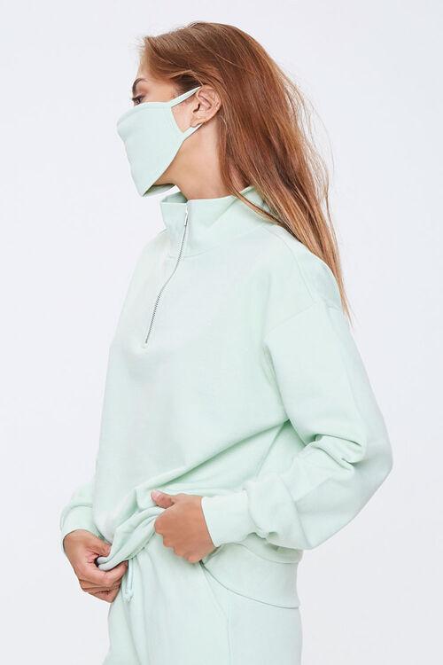 Half-Zip Pullover & Face Mask Set, image 2