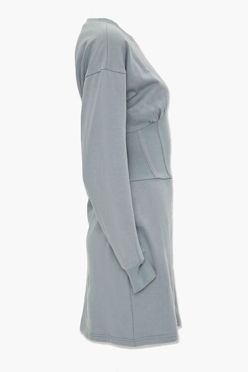 SAGE Fleece Knit Mini Dress, image 2