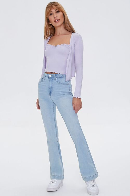 High-Rise Flare Jeans, image 6