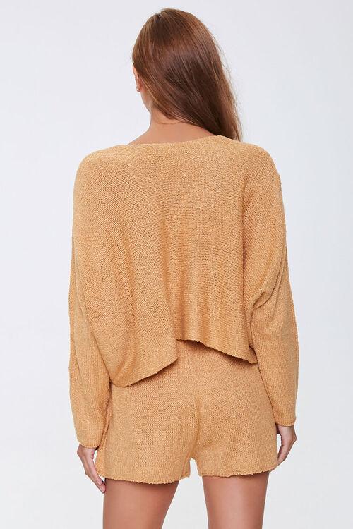 Boucle Knit Sweater & Shorts Set, image 3