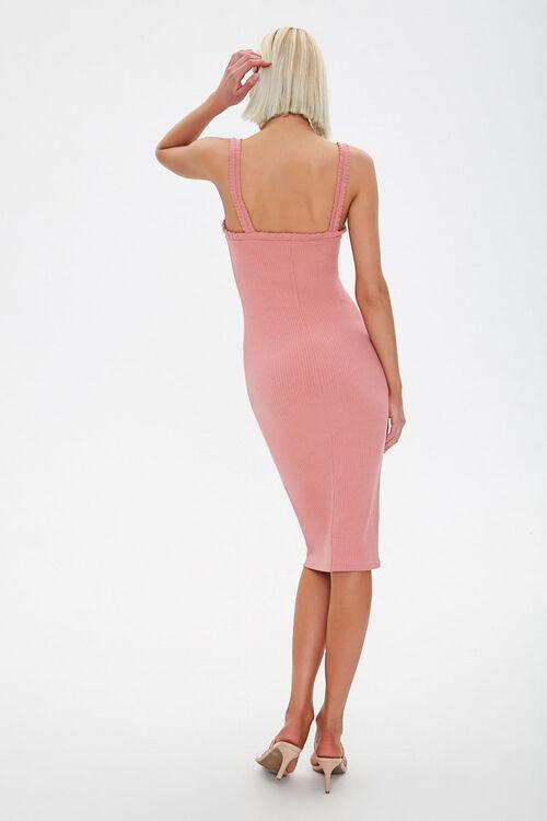 Ribbed Bodycon Dress, image 3
