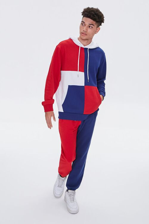 Colorblock French Terry Hoodie, image 4
