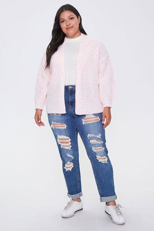 Plus Size Open-Front Cardigan, image 4