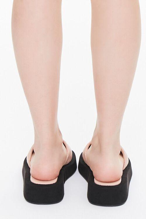 Quilted Slip-On Flatform Sandals, image 3