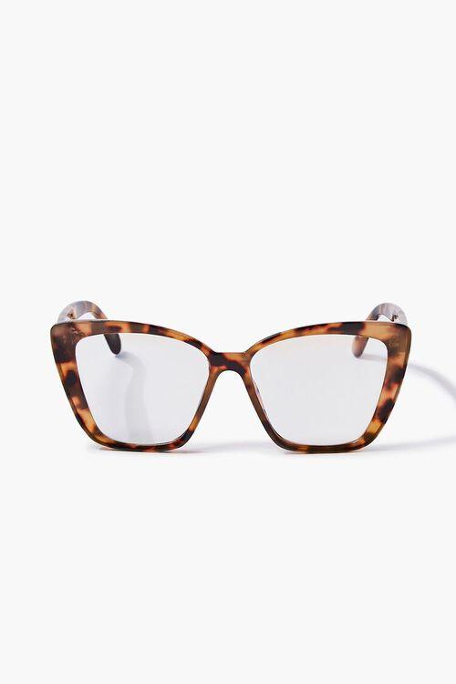 BROWN/CLEAR Blue Light Reader Glasses, image 1