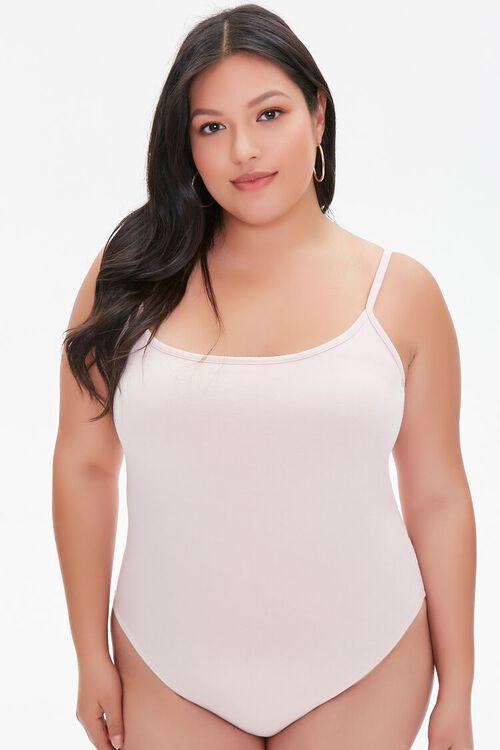 Plus Size Basic Cami Bodysuit, image 5