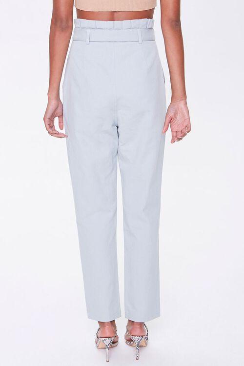 Paperbag Belted Pants, image 4