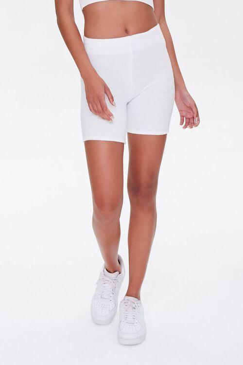 High-Waist Biker Shorts, image 2