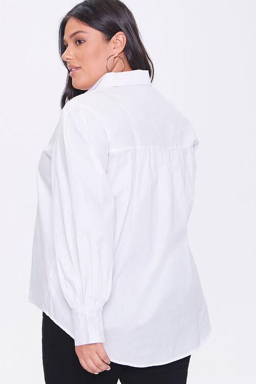 Plus Size Poplin Shirt, image 3