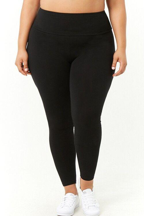 Plus Size High-Waist Leggings, image 2