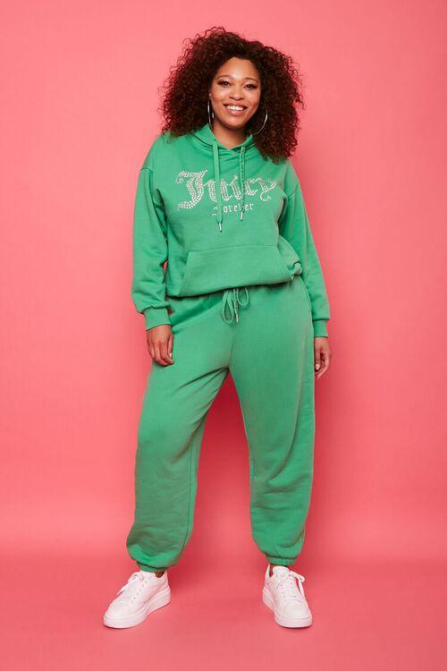 Plus Size Juicy Couture Fleece Joggers, image 6