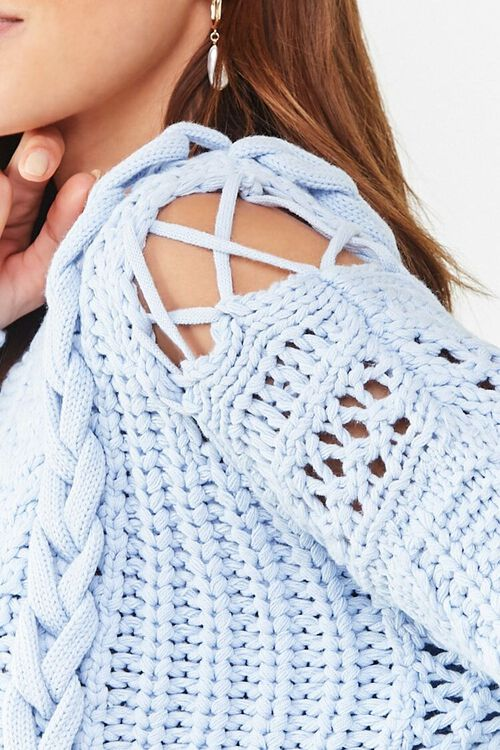 Cable Knit Sweater, image 5