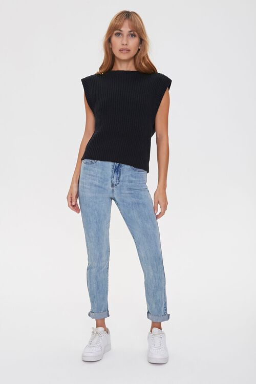 Ribbed Sweater-Knit Vest, image 4