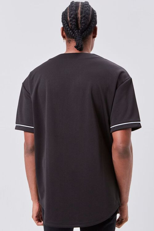 Contrast Piped-Trim Shirt, image 3