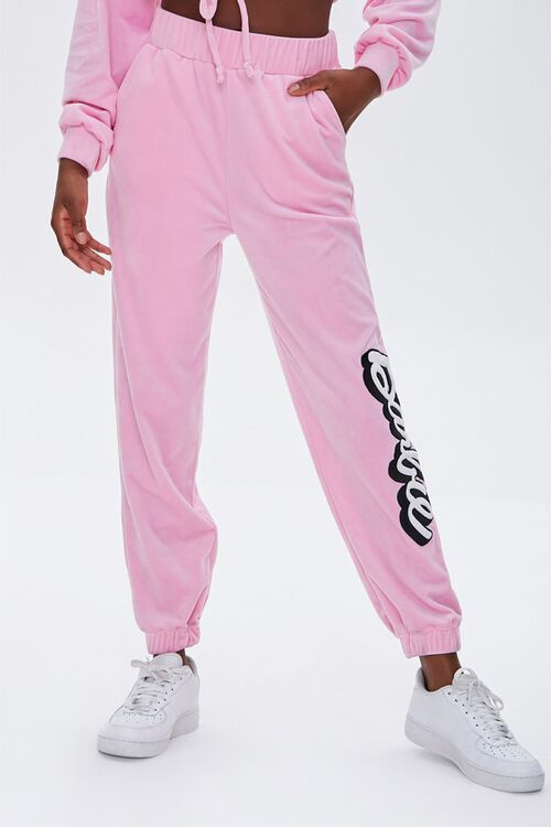 Velour Barbie™ Joggers, image 2