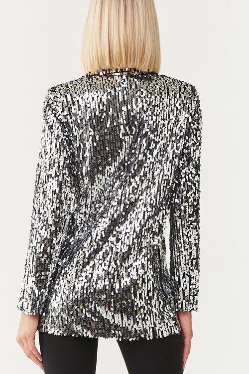Metallic Sequin Blazer, image 3
