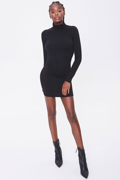 Turtleneck Mini Dress, image 4