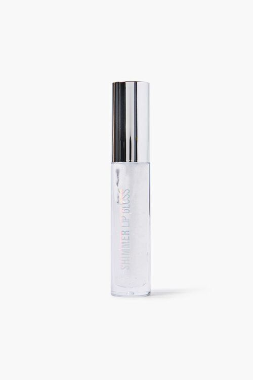 CLEAR/SILVER Shimmer Lip Gloss, image 1